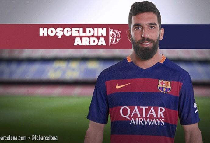 Arda Turan Barcelona (Foto: Reprodução)