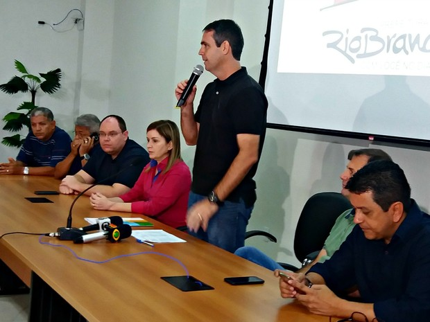 Prefeitura anunciou 34 secretários para a segunda gestão de Marcus Alexandre (Foto: Iryá Rodrigues/G1)