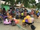 Rio Doce e o caminho da lama - Dia 3: moradores fazem filas por água