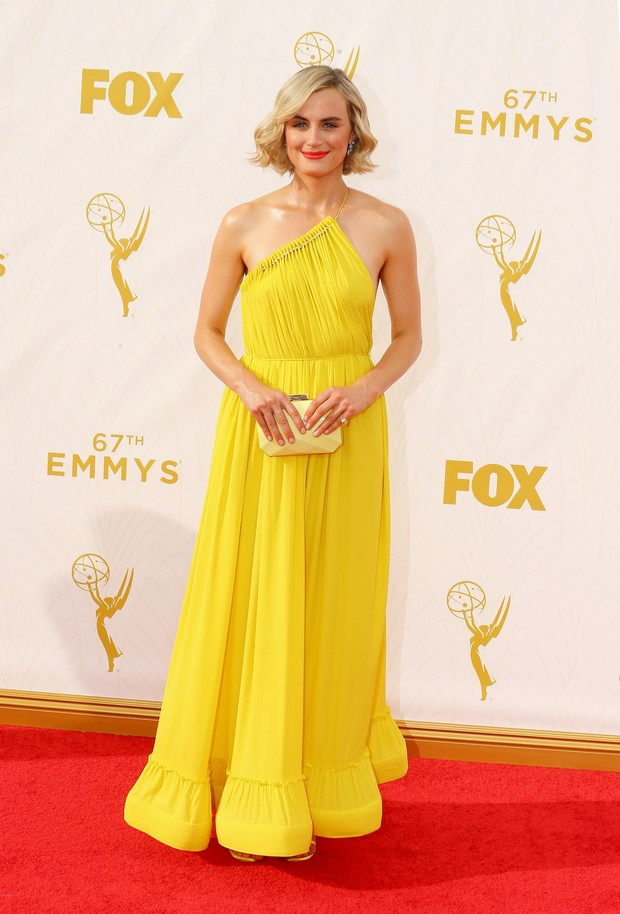 Kate Schilling no Emmy Awards (Foto: Getty Images)