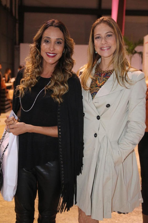 Luana Piovani e Carol Marra (Foto: Daniel Pinheiro / AgNews)