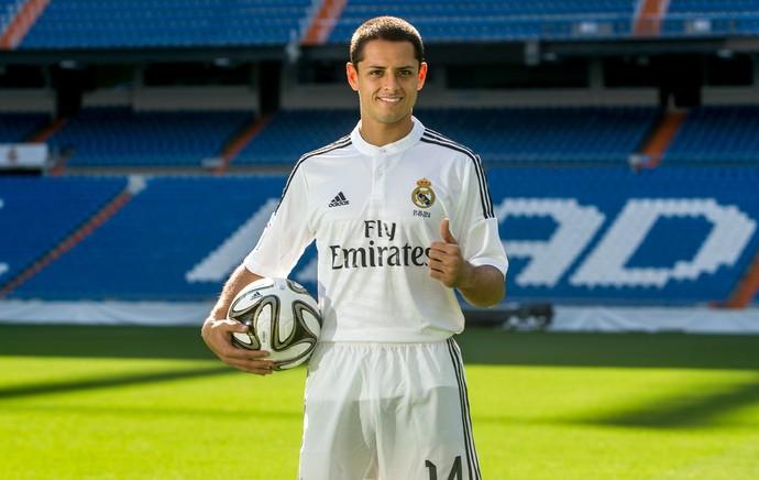 Javier Chicharito Hernández Real Madrid (Foto: AP)