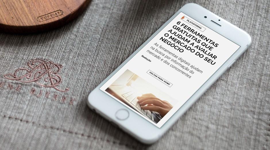 Aplicativo tem conteúdo sobre empreendedorismo  (Foto: PEGN)