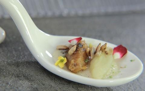 Sobremesa de batata-doce