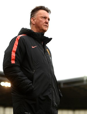 Louis van Gaal jogo Manchester United e Stoke City (Foto: Getty Images)