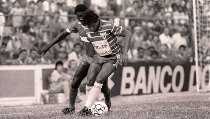 Fortaleza x América-RN Série C PV 1990 (Foto: Cid Barbosa/Agência Diário)