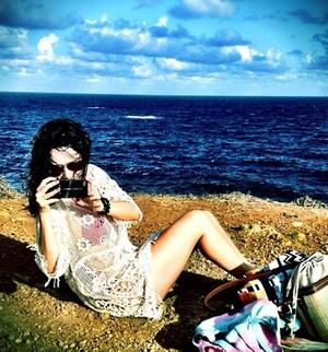 Fernanda Vasconcellos afirma que adora praia e piscina  (Foto: Arquivo Pessoal)