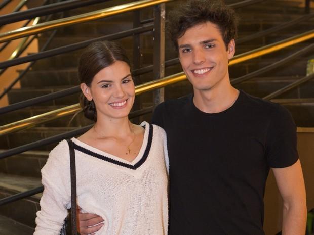 Camila Queiroz e o namorado, também modelo, Lucas Cattani (Foto: Felipe Monteiro/Gshow)