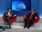 Manoel Santana é entrevistado pelo CETV de Juazeiro do Norte