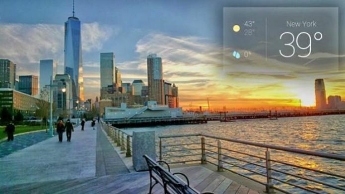 Foto da paisagem tirada com o Google Glass (Foto: Márcio Cyrillo/ TechTudo)