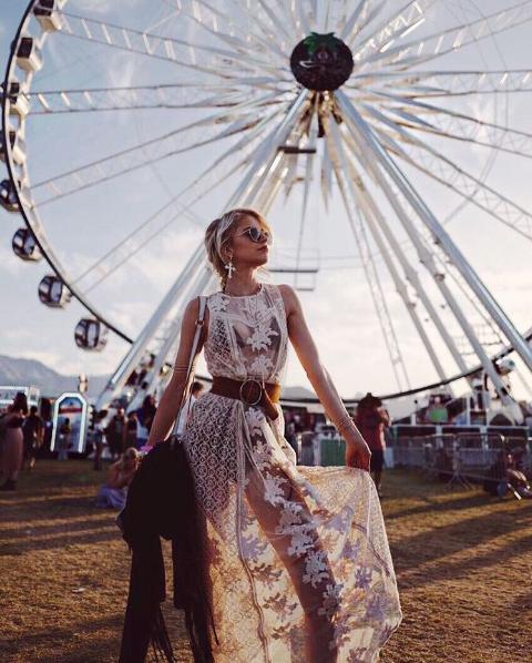 Coachella 2017 (Foto:  Reprodução/Instagram @carodaur)