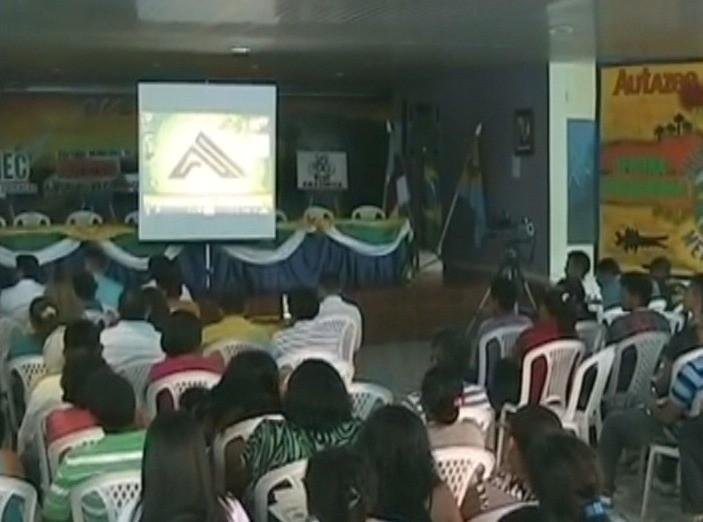 Evento começou nesta terça (29), em Autazes, no AM (Foto: Jornal do Amazonas)