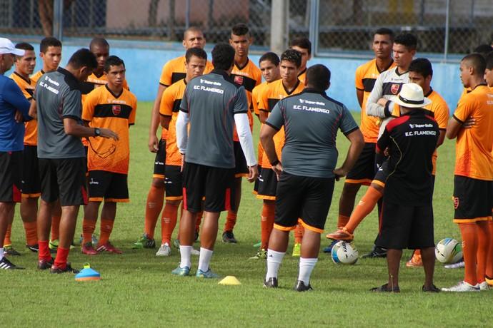 Treino Flamengo-PI  (Foto: Wenner Tito )