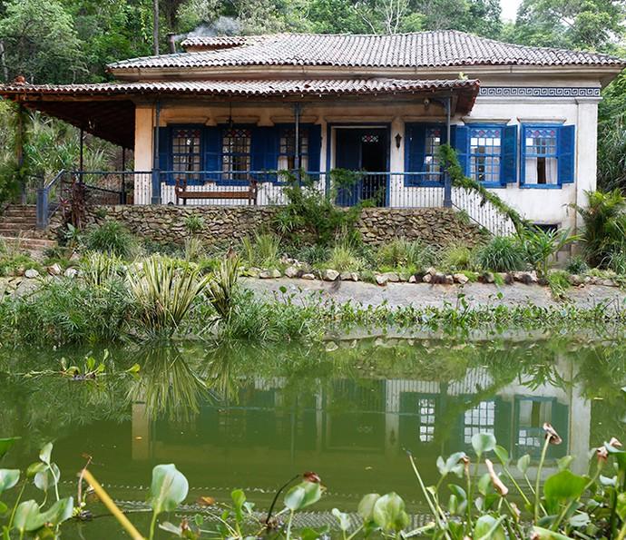 Fazenda Dom Pedro II tem futuro incerto (Foto: Ellen Soras/Gshow)