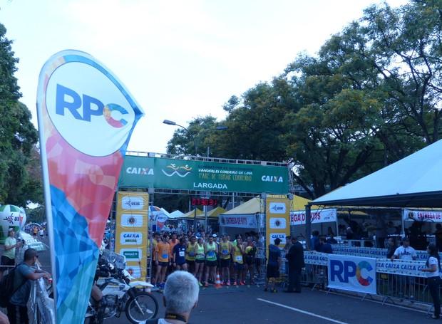 XIII Maratona de Revezamento Vanderlei Cordeiro de Lima 'Pare de Fumar Correndo' (Foto: Divulgação/RPC)