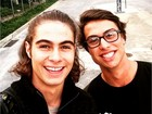 'Malhação': Francisco Vitti estreia na TV e fala sobre o irmão, Rafael Vitti
