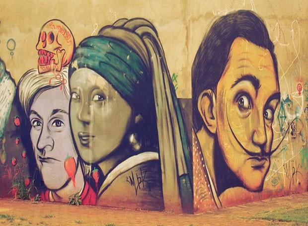 Encontro de Graffiti Maringá (Foto: Divulgação/ RPC)