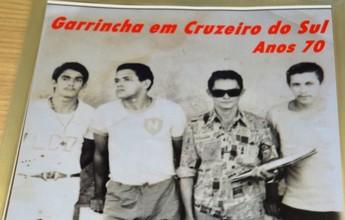 Futebol: álbum em cidade do interior do AC tem fotos inéditas de Garrincha