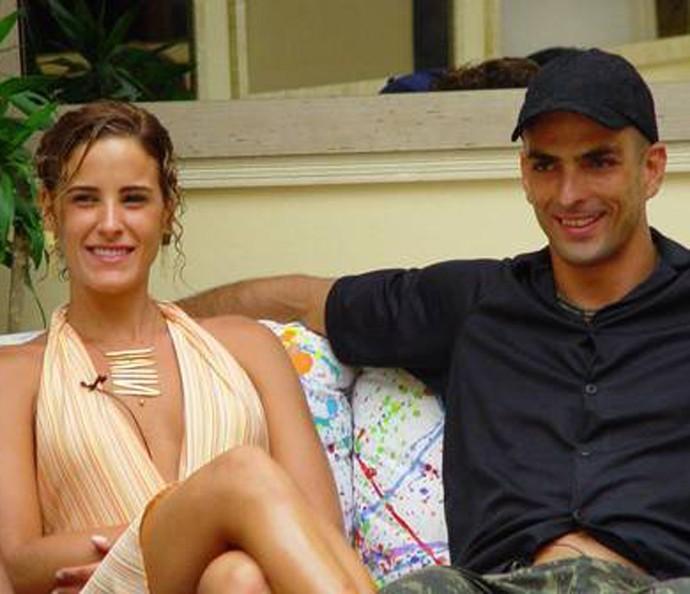 Juliana e Dourado fizeram o clima ficar quente (Foto: TV Globo)