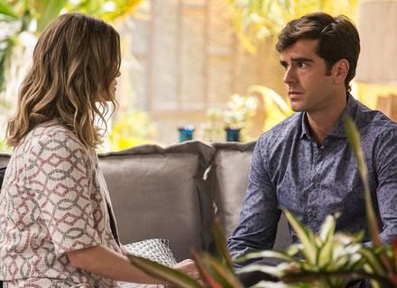 Felipe pede um tempo para Jéssica