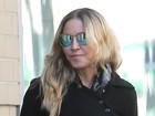 Madonna recebe visita de seu filho Rocco em Londres, diz site