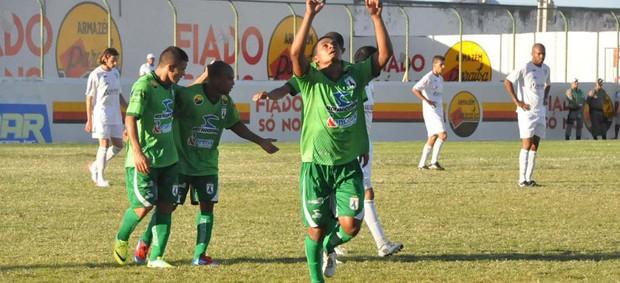 Sousa 2 x 1 Vitória da Conquista, no Estádio Marizão (Série D) (Foto: Jéfferson Emmanoel)