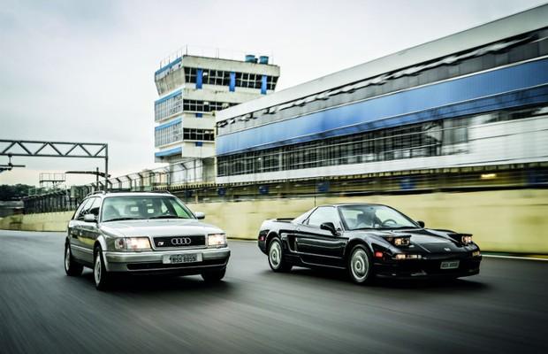 Aceleramos o Audi S4 Avant e o Honda NSX de Ayrton Senna em Interlagos (Foto: Rafael Munhoz)