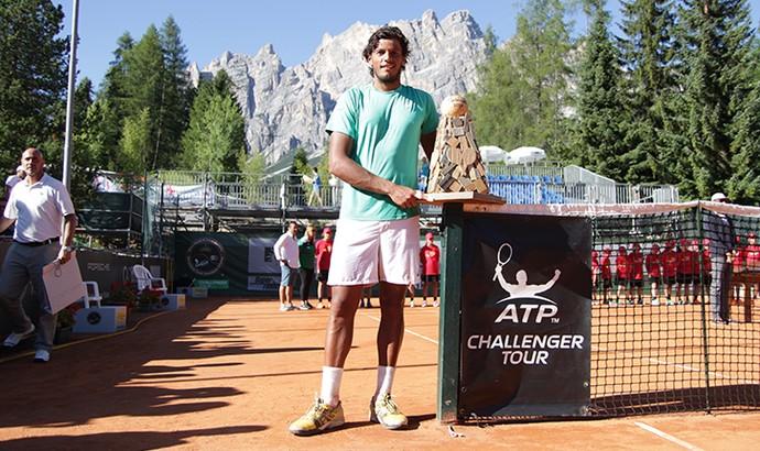 João Souza Feijão campeão Challenger de Cortina (Foto: Carola Carera/GAME)