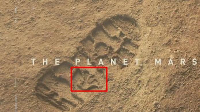 Pegada em Marte (Foto: Reprodução/IGN)