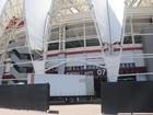 Beira-Rio se prepara para receber os Stones; camarins serão individuais