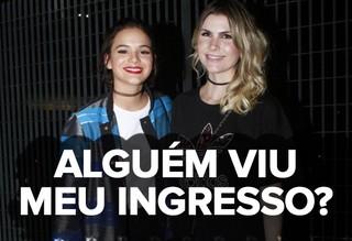 Bruna Marquezine no Rock in Rio (Foto: Anderson Barros / EGO)