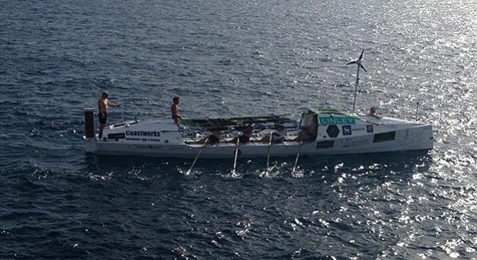Caê, remador carioca que vai cruzar o Atlântico (Foto: Divulgação )
