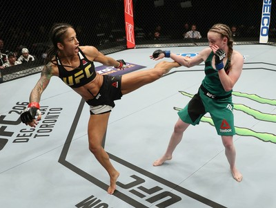 Ju Thai vence Aldrich no UFC Albany (Foto: Getty Images)