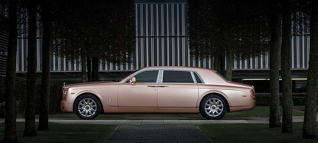 Rolls-Royce Phantom Pink Gold (Foto: Rolls-Royce)
