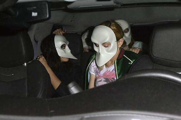 Madonna e Lourdes Maria (Foto: The Grosby Group)