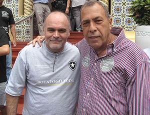 Montenegro e Assumpção - Votação Botafogo (Foto: Fabio Leme / Globoesporte.com)