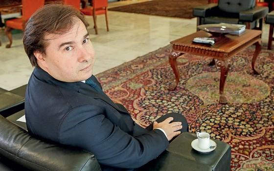 Rodrigo Maia presidente da Câmara (Foto:  Sérgio Lima/Editora Globo)