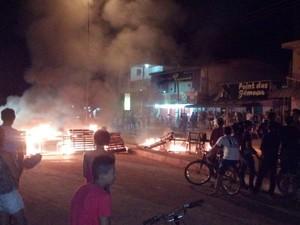 Manifestação aconteceu em Laranjal do Jari (Foto: Dalton Pacheco/Arquivo Pessoal)
