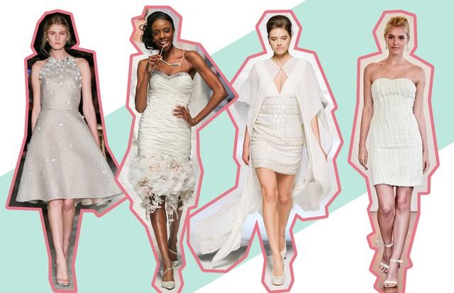 Vestidos de noiva curtos: 6 dicas para acertar na escolha do modelo (Foto: ImaxTree)