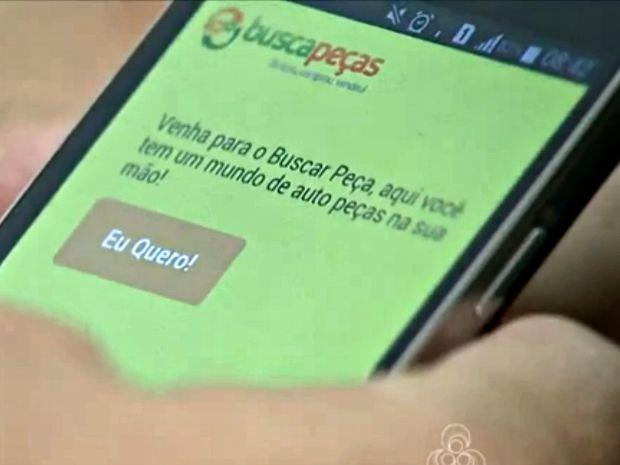 Em 35 dias de lançamento, ao menos 2 mil pessoas já estão usando o aplicativo (Foto: Reprodução/Rede Amazônica Acre)