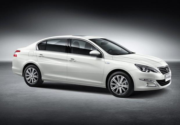 Novo Peugeot 408 vendido na China (Foto: Divulgação)