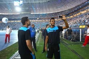Jogadores do Grêmio veem Arena como grande exemplo ao Brasil (Lucas Uebel/Grêmio FBPA)