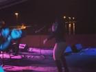 Mulher Melancia rebola muito em show nas Ilhas Virgens