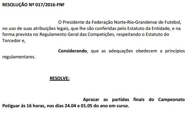 Resolução FNF