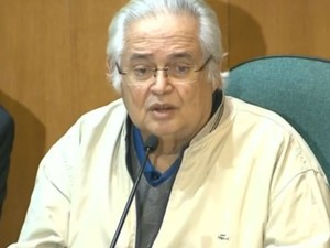 Pedro Corrêa, durante depoimento na CPI da Petrobras, em Curitiba (Foto: Reprodução/RPC)