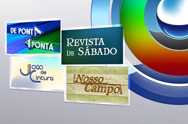 Mosaico TV TEM programas de entretenimento (Foto: Arte / TV TEM)