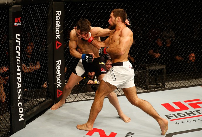 Mairbek Taisumov Damir Hadzovic UFC Croácia (Foto: Getty Images)