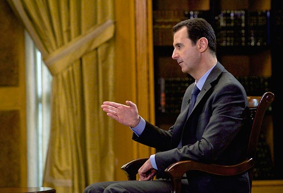 O presidente da Síria, Bashar al-Assad (Foto: AP Photo/SANA, File)