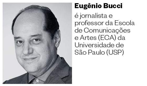 Eugênio Bucci  é jornalista e professor da Escola de Comunicações e Artes (ECA) da Universidade de São Paulo (USP) (Foto: Divulgação)