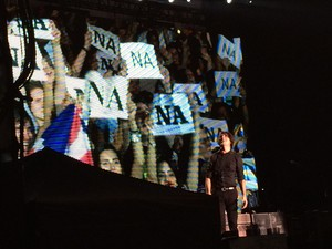 Hey Jude foi uma das músicas mais cantadas durante show pelos fãs (Foto: Victoria Varejão/ G1 ES)